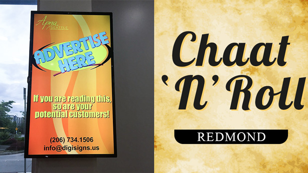 advertise at chaat-n-roll-redmond