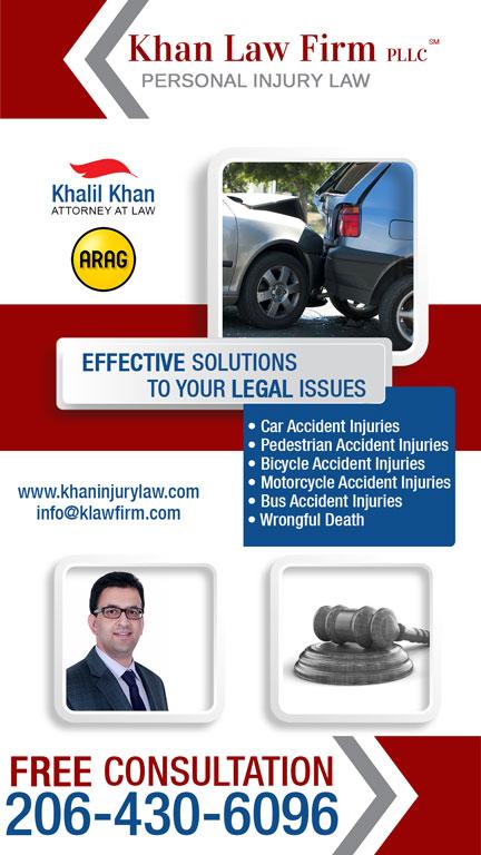 Khalil Khan Injury lawyer