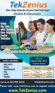 TekZenius class starting March 2oth