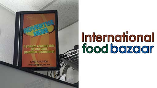 Desi-Advertising-at-International-food-bazar-Kent-Seattle