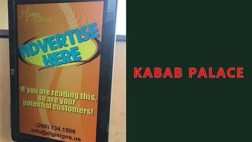 Desi-Advertising-at-Kabab-Palace-Redmond-Seattle