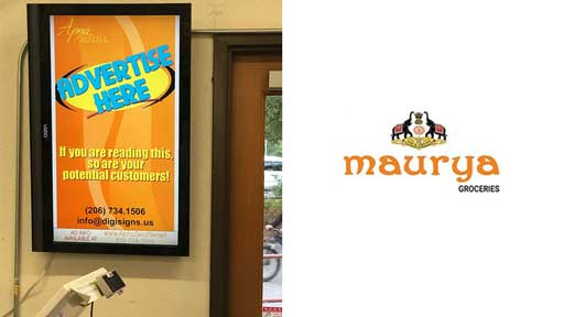 Local-Advertising-Maurya-Grocery-Issaquah